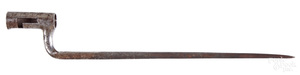 U.S. model of 1814 Henry Deringer bayonet