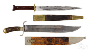 German Weyersberg Irmaos bowie knife and sheath