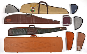 Group of miscellaneous gun accessories