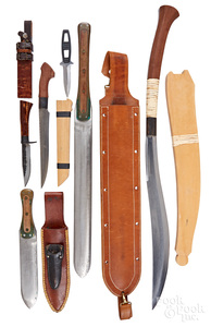 Five edged weapons