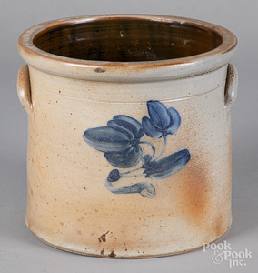 New Jersey three-gallon stoneware crock, 19th c.