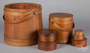 C. Wilder firkin, together with a large bucket