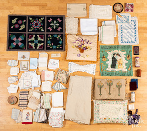 Collection of textiles.