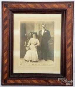 Philadelphia pencil fraktur marriage certificate