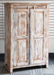 Painted barnwood cupboard