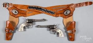 Halco double set of Maverick 45 cap guns