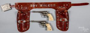 Hubley double set of Cowpoke cap guns