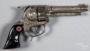Hubley Texan cap gun