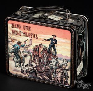 Paladin tin lunch box