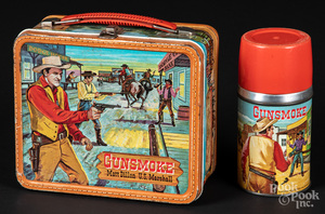 Gunsmoke tin lunch box