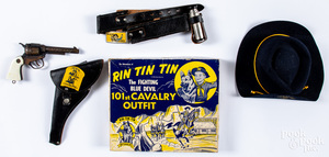 Boxed Rin Tin Tin 101st Cavalry Outfit, 1955