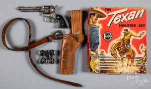 Boxed Halco The Texan cap gun and holster set
