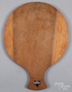 Poplar doughboard, mid 20th c.