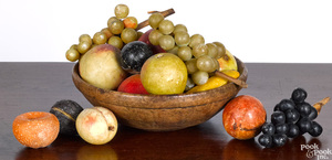 Collection of stone fruit