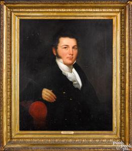 Jacob Eichholtz oil on canvas portrait