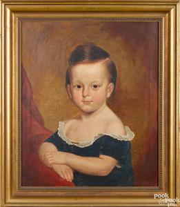 Thomas Coke Ruckle pair of oil on canvas portrait