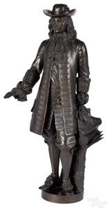 Alexander Milne Calder bronze of William Penn