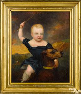 Robert Street oil on canvas portrait