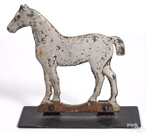Dempster Mill cast iron horse windmill weight