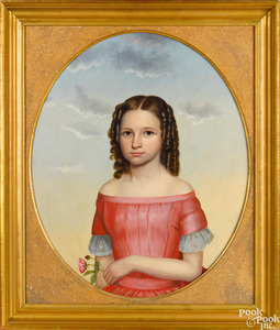 Joseph Goodhue Chandler oil on canvas portrait