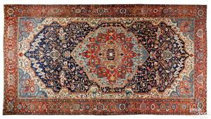 Palace size Heriz carpet, early 20th c.