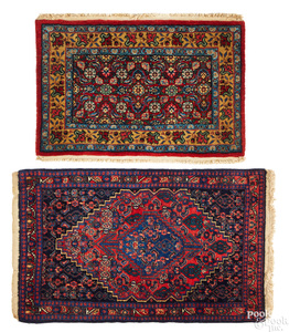 Two Northwest Persian mats, early 20th c.