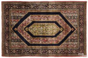 Semi antique Qum carpet