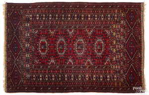 Turkoman mat, early 20th c.