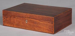 Pennsylvania mahogany dresser box