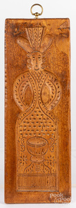 Two carved springerle boards