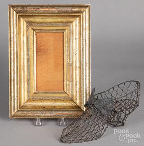 Gilt frame, 19th c.