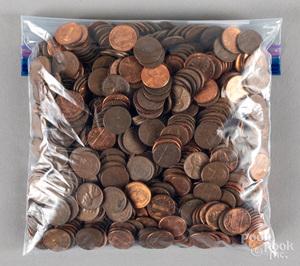 Jefferson nickels, buffalo nickels, etc.