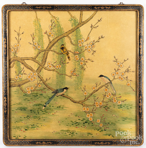 Chinese watercolor panel, 35