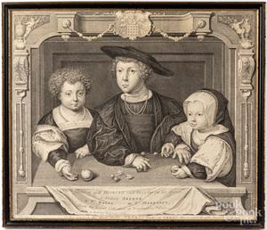 Two George Vertue engravings