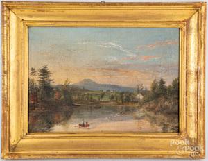 William McMaster oil on canvas landscape