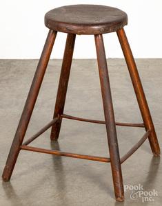 Splay leg stool, early 19th c.