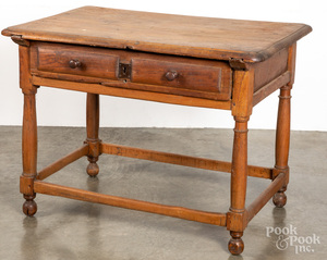 Continental oak tavern table, mid 18th c.