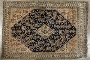 Caucasian throw rug, early 20th c.