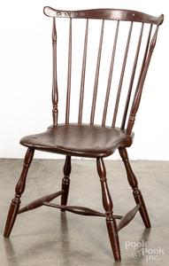 Fanback Windsor chair, ca. 1800.