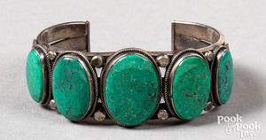 Henry Morgan, Navajo Indian bracelet