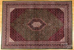Semi antique Bidjar style carpet, 13'6