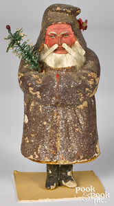 German Father Christmas candy container