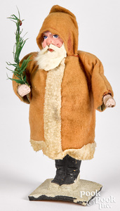 German Father Christmas on a spring