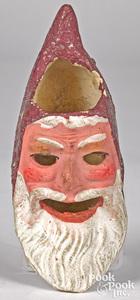 German composition Santa Claus lantern head