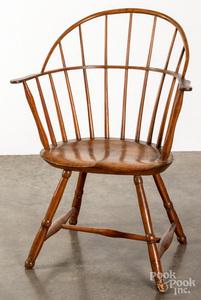 Sackback Windsor chair, ca. 1800