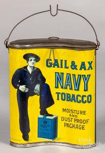 G. W. Gail & Ax, Baltimore, Maryland tin