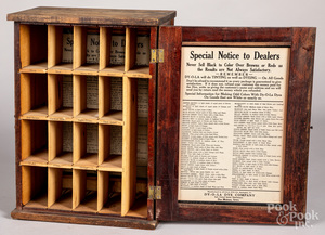 Dy-O-La country store advertising cabinet