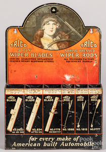 Trico Wiper Blades tin lithograph store display