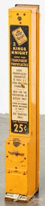 Kings Knight steel prophylactic condom dispenser