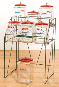 Lance Cracker wire store display rack